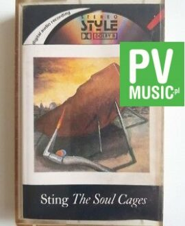 STING THE SOUL CAGES audio cassette