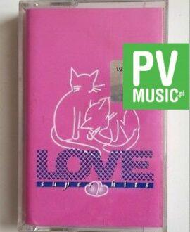 LOVE SUPER HITS A-HA, FOREIGNER.. audio cassette