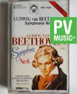 LUDWIG VAN BEETHOVEN SYMPHONY NR.6 audio cassette