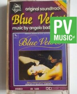 BLUE VELVET ORIGINAL SOUNDTRACK audio cassette