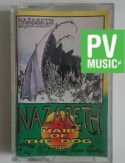 NAZARETH  HAIR OF THE DOG  audio cassette