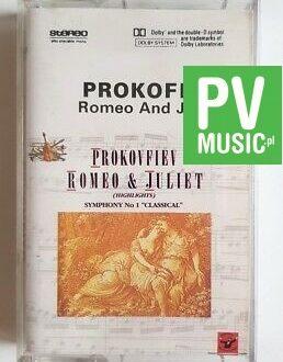 PROKOFIEV ROMEO & JULIET audio cassette