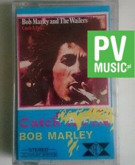 BOB MARLEY AND THE WAILERS  CATCH A FIRE    audio cassette