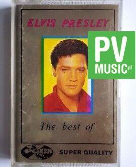 ELVIS PRESLEY THE BEST OF audio cassette