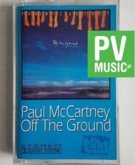 PAUL McCARTNEY OFF THE GROUND audio cassette