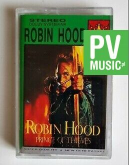ROBIN HOOD PRINCE OF THE THIEVES audio cassette