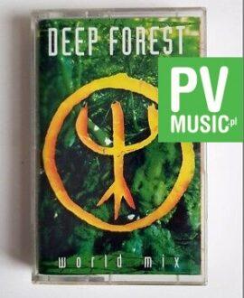 DEEP FOREST WORLD MIX audio cassette