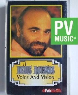 DEMIS ROUSSOS VOICE AND VISION audio cassette
