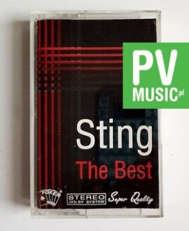 STING THE BEST audio cassette