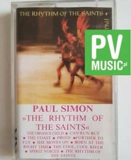 PAUL SIMON THE RHYTHM OF THE SAINTS  audio cassette