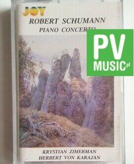ROBERT SCHUMANN PIANO CONCERTO audio cassette
