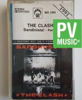 THE CLASH SANDINISTA PART 1  audio cassette