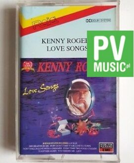 KENNY ROGERS LOVE SONGS audio cassette