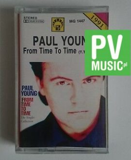 PAUL YOUNG  FROM TIME TO TIME   audio cassette