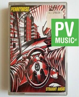 PENNYWISE STRAIGHT AHEAD audio cassette