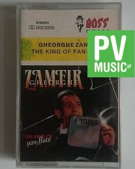 GEORGHE ZAMFIR  THE KING OF PAN-FLUTE     audio cassette