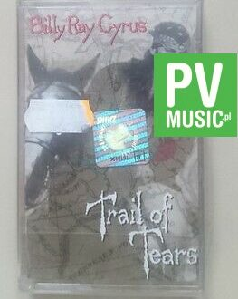 BILLY RAY CYRUS TRAIL OF TEARS   NEW  - RARE  audio cassette