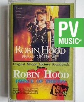 ROBIN HOOD SOUNDTRACK audio cassette