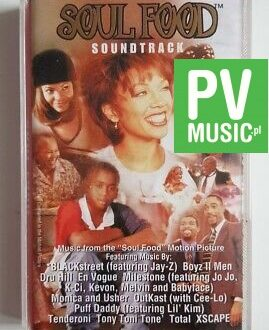 SOUL FOOD SOUNDTRACK audio cassette
