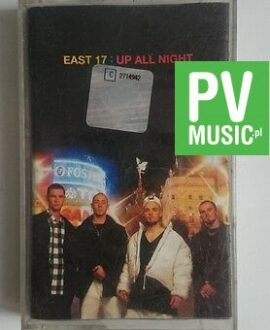 EAST 17  UP ALL NIGHT    audio cassette