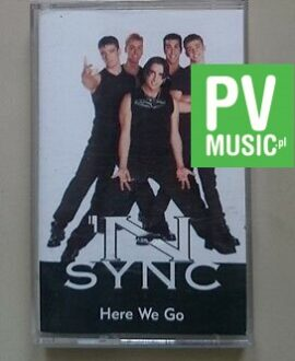 N SYNC  HERE WE GO  audio cassette