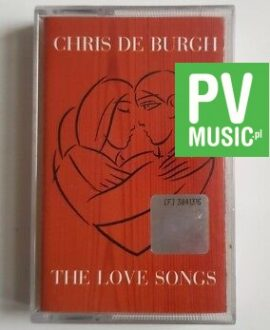 CHRIS DE BURGH THE LOVE SONGS audio cassette