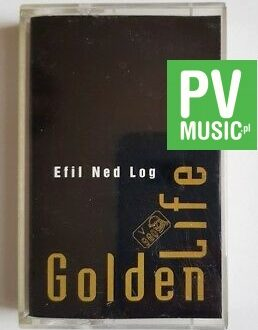 GOLDEN LIFE EFIL NED LOG audio cassette