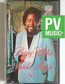 BARRY WHITE SHEET MUSIC    audio cassette
