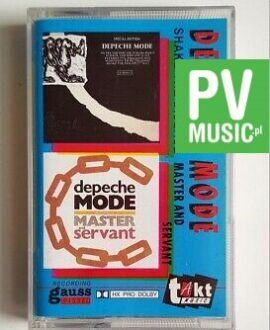 DEPECHE MODE SHAKE THE DISEASE/MASTER AND SERVANT audio cassette