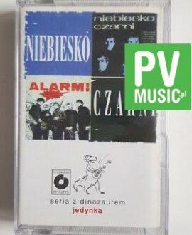 NIEBIESKO CZARNI ALARM audio cassette