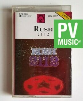 RUSH 2112 audio cassette