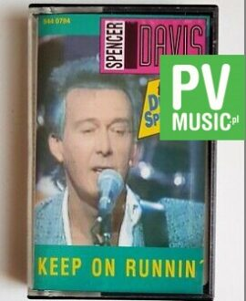 SPENCER DAVIS KEEP ON RUNNIN' audio cassette