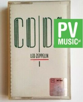 LED ZEPPELIN CODA audio cassette