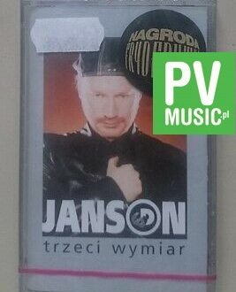 JANSON TRZECI WYMIAR  NEW IN FOIL  audio cassette
