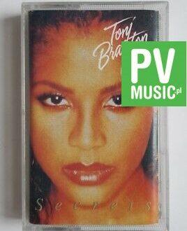 TONI BRAXTON SECRETS  audio cassette