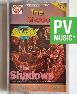 THE SHADOWS LEGENDS OF ROCK'N'ROLL audio cassette