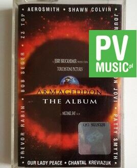 ARMAGEDDON THE ALBUM audio cassette
