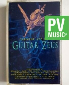 GUITAR ZEUS SLASH, MALMSTEEN, MAY.. audio cassette