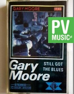 GARY MOORE STILL GOT THE BLUES audio cassette