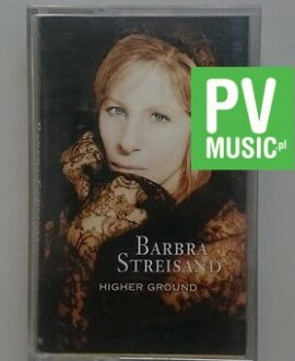 BARBARA STREISAND  HIGHER GROUND   audio cassette
