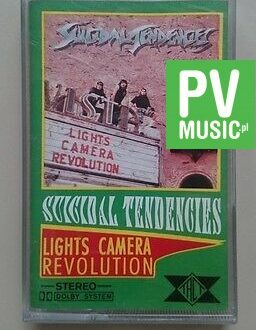 SUICIDAL TENDENCIES  LIGHTS CAMERA REVOLUTION  audio cassette