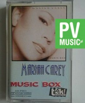MARIAH CAREY MUSIC BOX     audio cassette