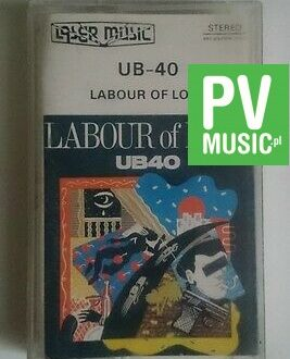 UB-40  LABOUR OF LOVE   audio cassette