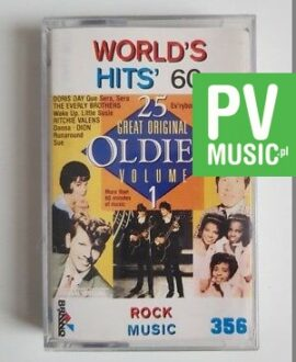 WORLD'S HITS 60 RITCHIE VALENS, DORIS DAY.. audio cassette