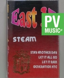 EAST 17  STEAM  audio cassette