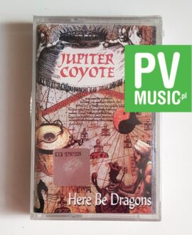 JUPITER COYOTE HERE BE DRAGONS audio cassette TAPE