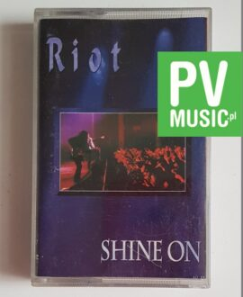 RIOT SHINE ON audio cassette TAPE MC