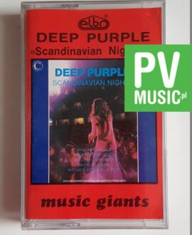 DEEP PURPLE SCANDINAVIAN NIGHTS 2 audio cassette
