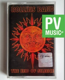 ROLLINS BAND THE END OF SILENCE audio cassette