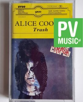 ALICE COOPER TRASH audio cassette